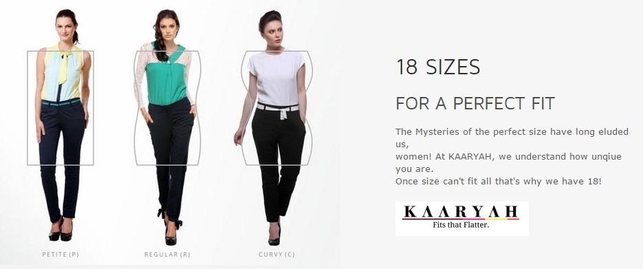 18 Sizes - Kaaryah