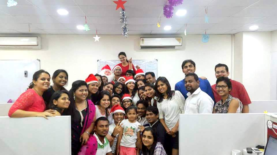 CA Nikita Dresswala & Team QuezX - Christmas Celebrations
