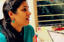 NIdhi Agarwal with CA Diaries