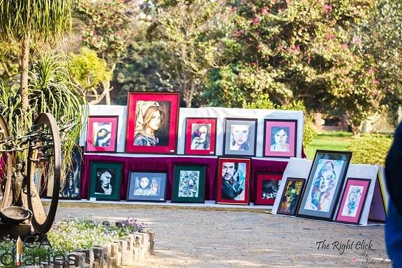Art Exhibition by Gaurang Makhija Articleship - CA Diaries Football League 2015