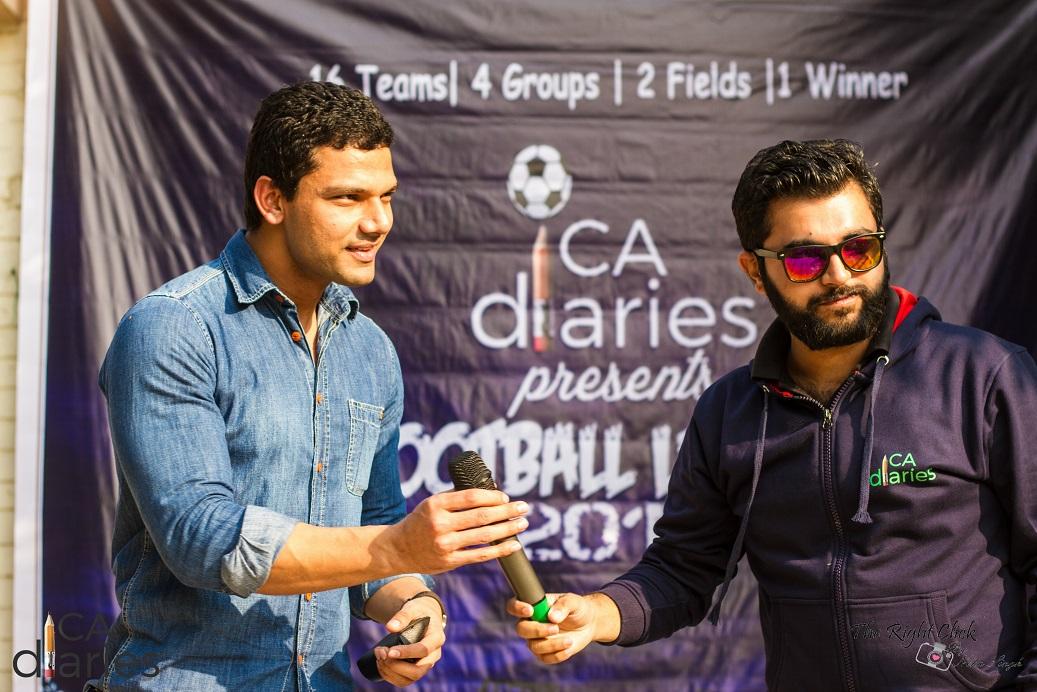 CA Diaries Football League 2015 - Sehat Singh - CA Kulvinder Ruhil - CA Diaries Journal Entry