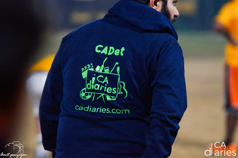 CA Diaries Hoodies - CADet - CA Diaries Football League 2015