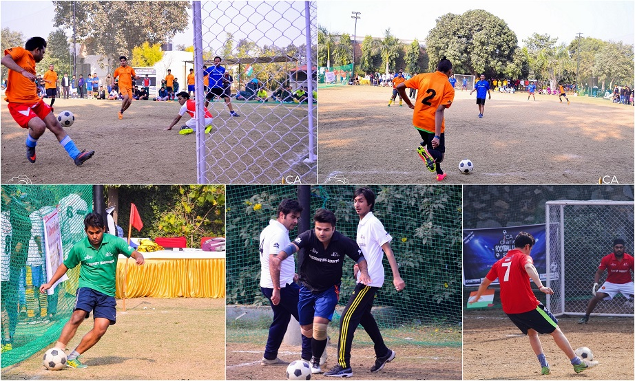 Day Action - CA Diaries Football League 2015