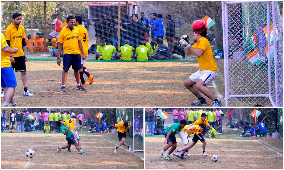 Goal Keeper - CA Diaries Football League 2015