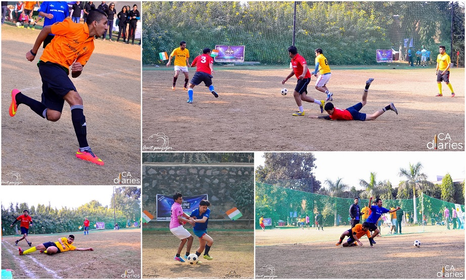 On The Ground - CA Diaries Football League 2015