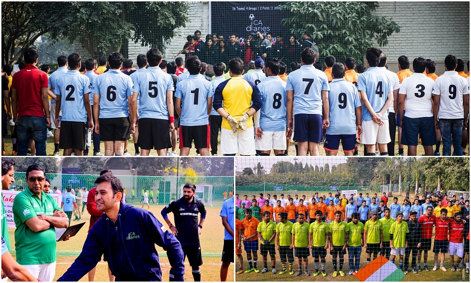 Openeing Ceremony - CA Diaries Football League 2015