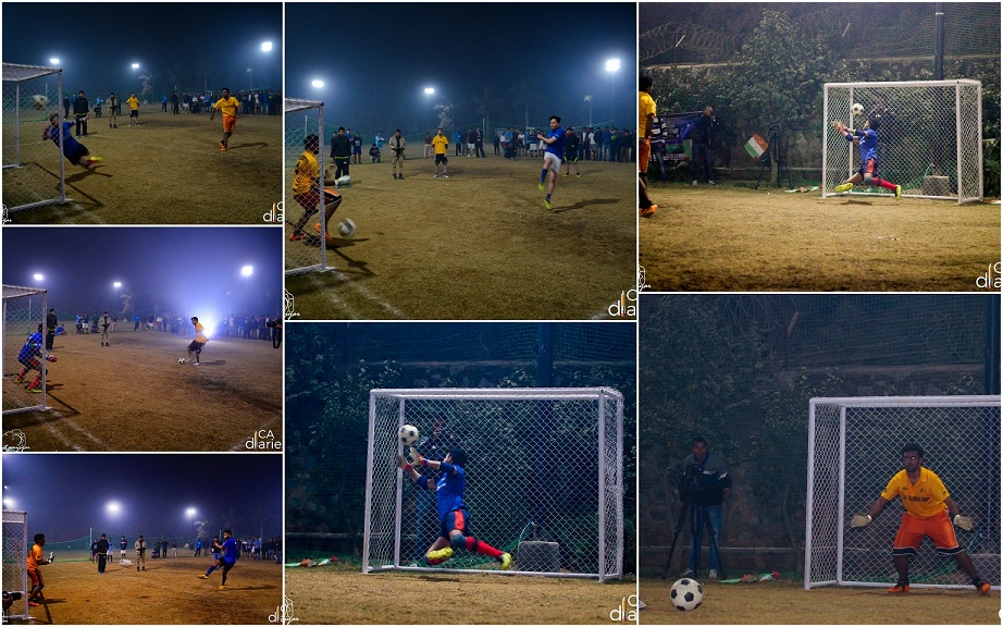 Penalty Shootout - SF2 - CA Diaries Football League 2015