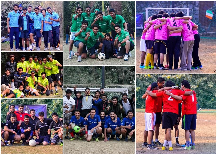Teams - CA Diaries Football League 2015