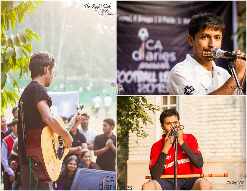 The Ankit Bajaj Collectives 1 - CA Diaries Football League 2015