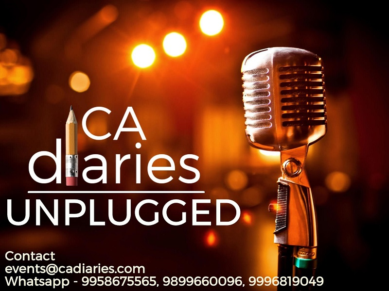 CA Diaries Unplugged