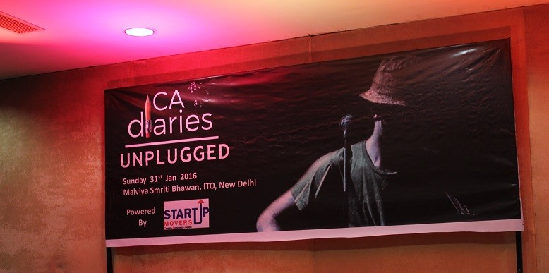 CA Diaries Unplugged 2016 - Backdrop