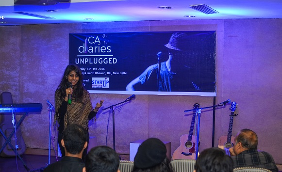 CA Diaries Unplugged 2016 - Event MOC - Nikita Jain
