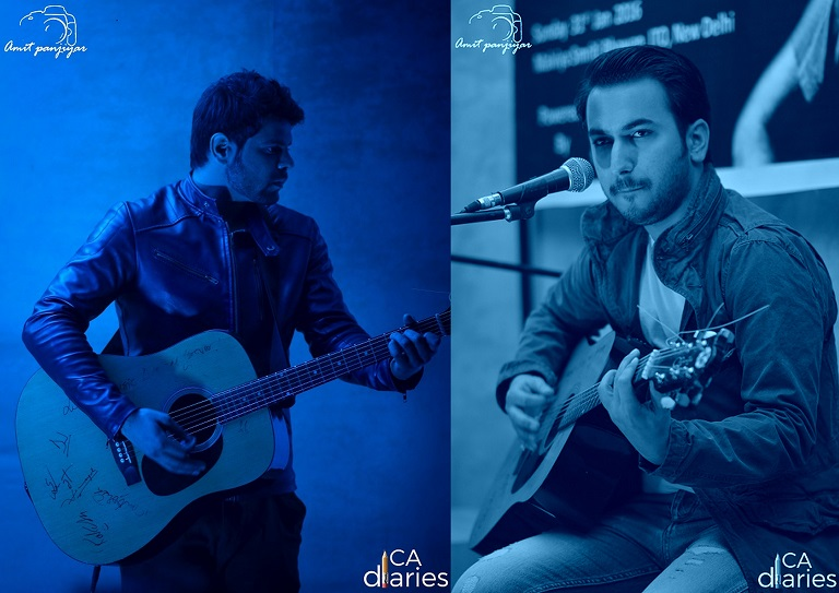 Unplugged Feature - Left: Saifi, Right: Vaibhav Arora