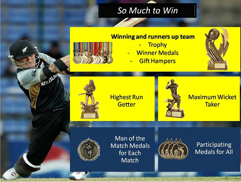 Prizes and Rewards - CA Diaries Super Sixes 2016