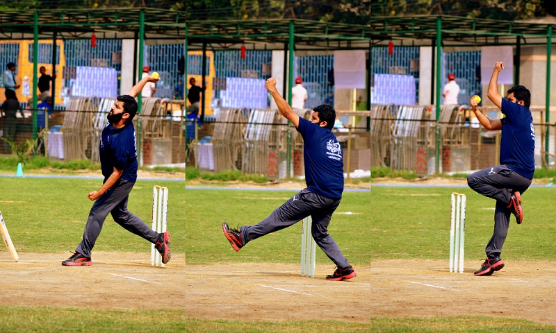 Anki Bajaj - Bowling - Flying Cadets - CA DIaries Supers Sixes 2016