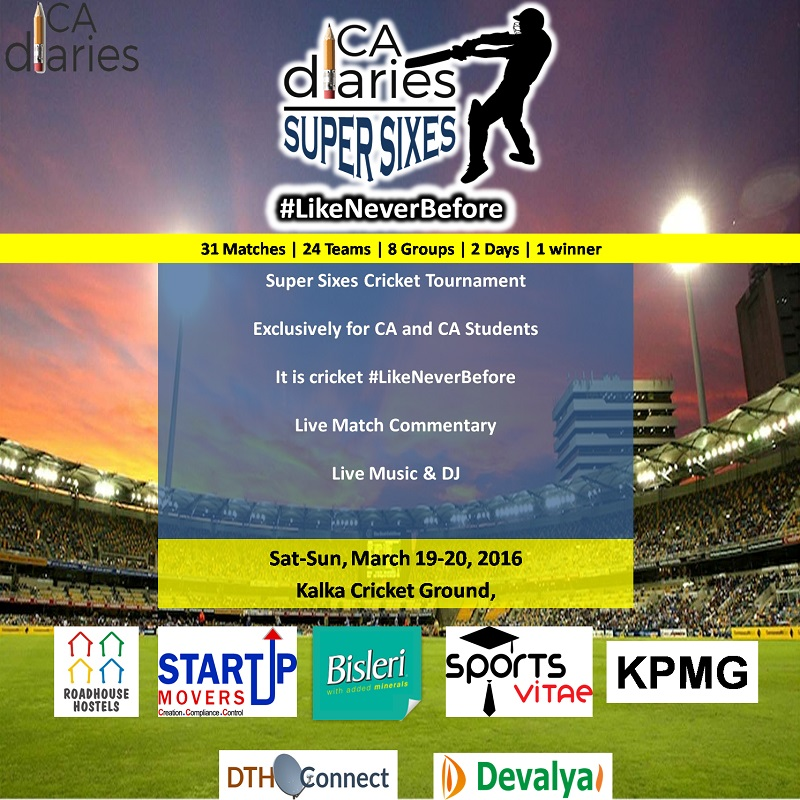CA Diaries SUper Sixes 2016 - Main Backdrop