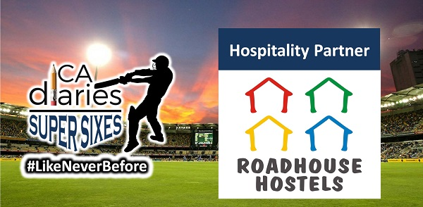 CA Diaries Super Sixes 2016 -Hospitality Partner Roadhouse
