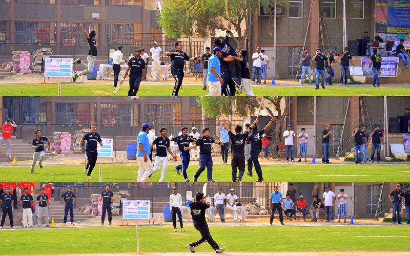 Finance Yankees Win Quarter Final - KHANNA & ANNADHANAM -CA DIaries Supers Sixes 2016