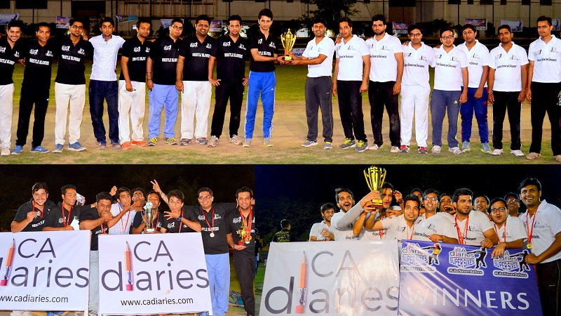Winners and Runners up - CA DIaries Supers Sixes 2016
