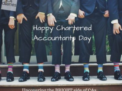 CA diaries Chartered accountants day 2016